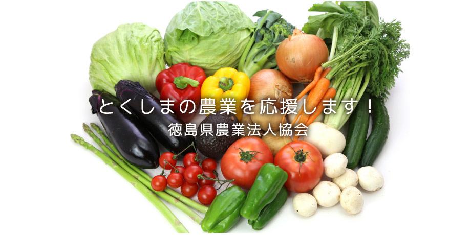 徳島の農業を応援します。徳島県農業法人協会